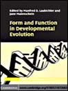 Form and Function in Developmental Evolution (eBook)